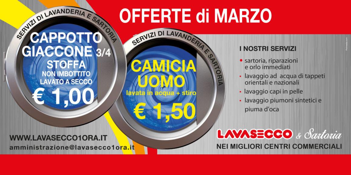 ec19c714478cf Lavasecco - Promozioni di marzo - Piazza Paradiso